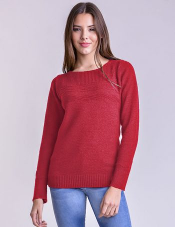 Art. 094 - Sweater cuello redondo 68b753dd46fd